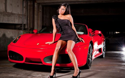 ferrari-f360-italia-supercar-red-sexy-girl