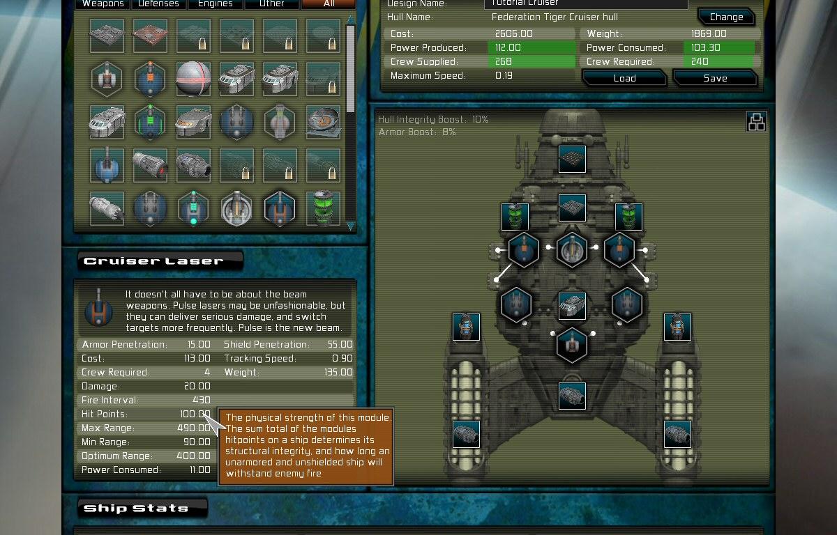 Home Gratuitous Space Battles - Spaceship design game