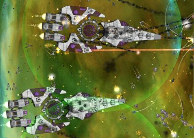 Parasites in Gratuitous Space Battles
